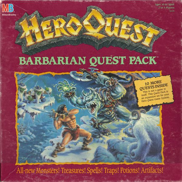 heroquest   barbarian quest pack (1992)   01