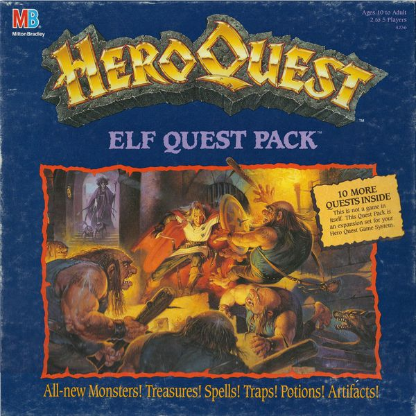 heroquest   elf quest pack (1992)   01