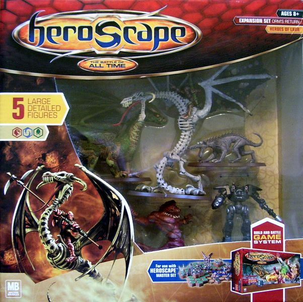 heroscape Expansion Set Orm's Return (2005)   01