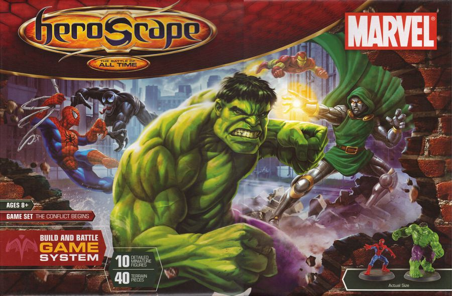 heroscape Marvel The Conflict Begins (2007)   01
