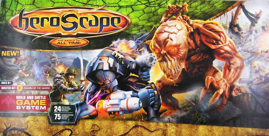 heroscape Master Set Swarm of the Marro (2007)   01
