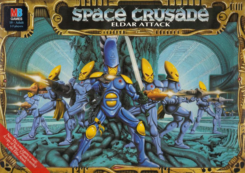 space crusade   Eldar Attack (1991)   01