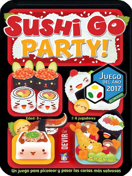 sushi go party   jda 2017 recomendado ' 01