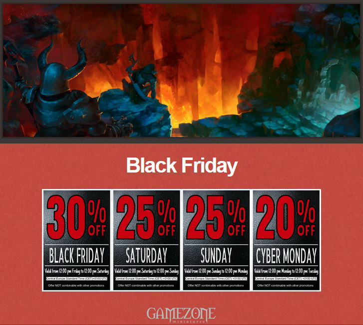 Gamezone Black Friday