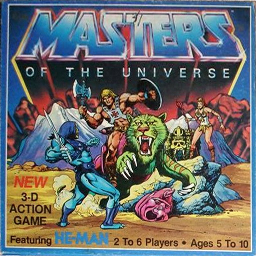 Masters of the Universe 3D action game