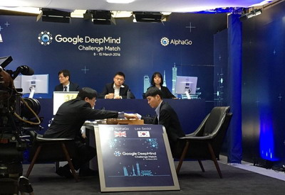 AlphaGo 1 - Lee Sedol 0